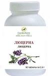Люцерна(Alfalfa), (Medicago sativa) (90 таблеток по 0,4г)
