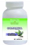 Солодка — сладкое здоровье (Glycyrrhiza glabra L.) (90 таблеток по 0,4г)