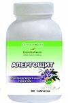 Аллергощит — противоаллергическая пропись (90 таблеток по 0,4г)